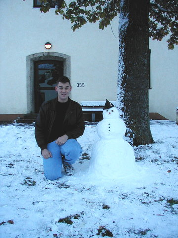 The First Snow Man