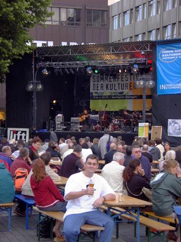 Sommerfest Der Kulturer in Stuttgart