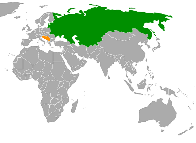 Suport Rússia a Sèrbia.