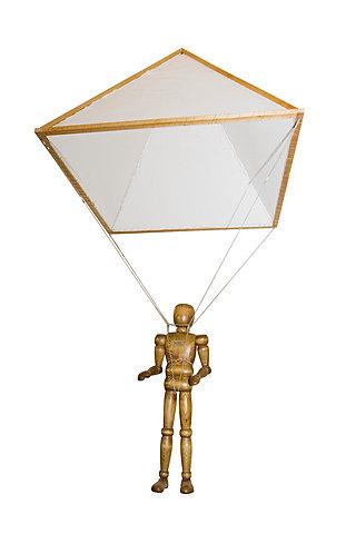 Invenció del paracaigudes - Per Leonardo Da Vinci