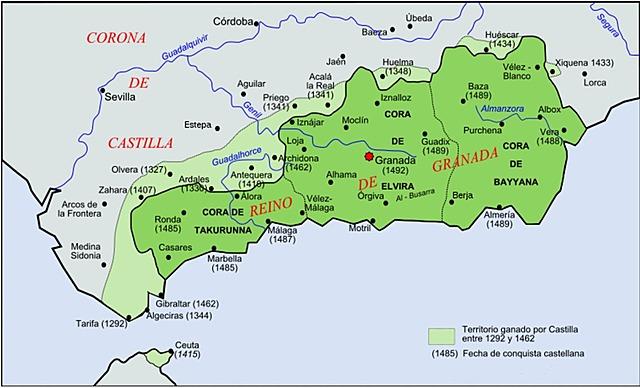 Els Reis Catòlics conquereixen Granada