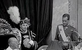 Proclamación de Don Juan Carlos como Príncipe de España, sucesor a la Jefatura del Estado con título de rey.