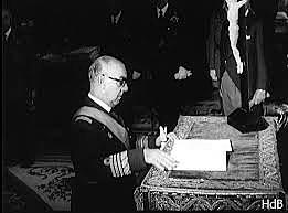 Carrero Blanco, Presidente del Gobierno.