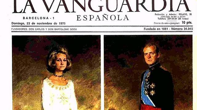 Proclamación de la Monarquía. Don Juan Carlos accede al trono.