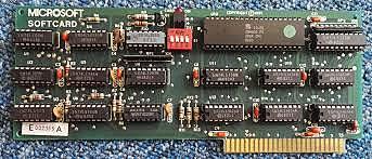 Z-80 SoftCard.