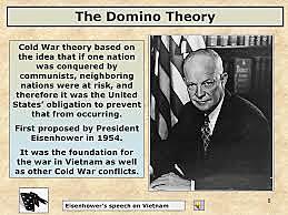 Eisenhower Develops Domino Theory