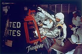 John Glenn is 1st American to Orbit Earth
