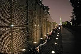 Vietnam Memorial Erected