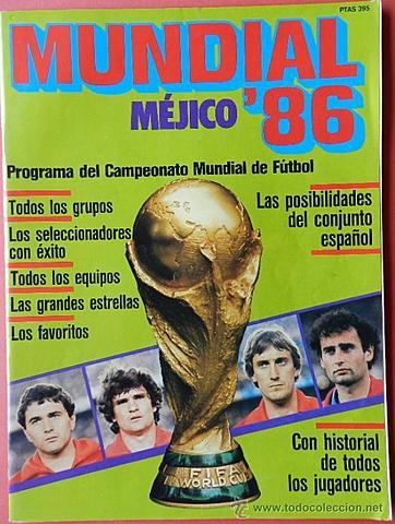 MÉXICO 1986  .