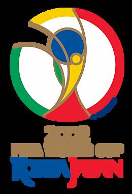 """COREA/JAP""""N 2002  Este torneo fue el primero organizado en la historia por dos países, el primero en realizarse fuera de Europa y América y el primero en realizarse en Asia."""