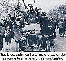 El gobierno de Negrín abandona Barcelona y se dirige a Figueras (Gerona) poco antes de que la capital catalana cayera en manos franquistas.