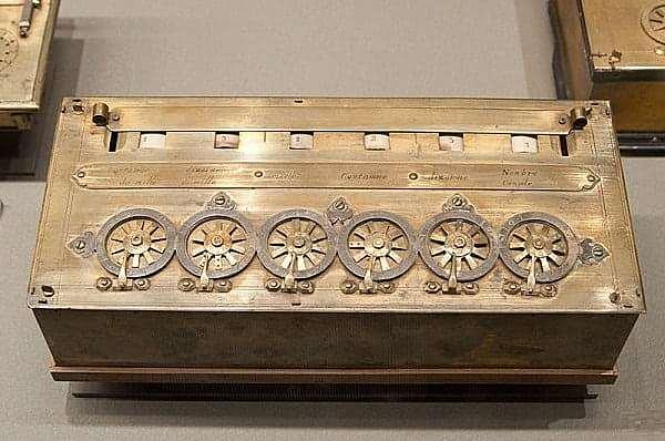 Calculadoras mecanica