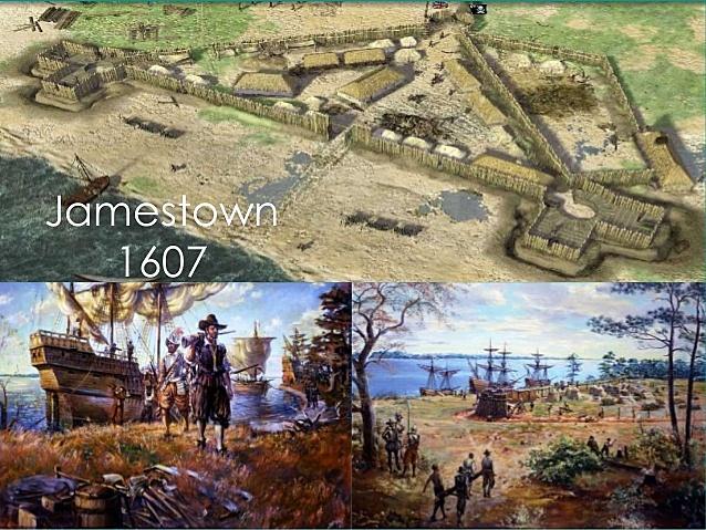 Pocahontas Spots Jamestown