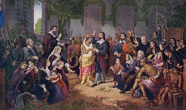 Pocahontas Saves Jamestown