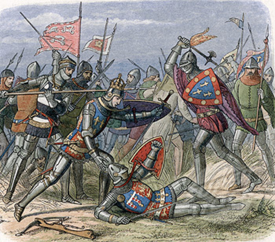 The Hundred Years' War ends