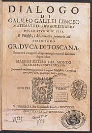 Galileo dialogo sopra i due massimi sistemi del mondo
