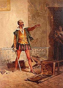"""""""El ingenioso hidalgo don quijote de la mancha"""" (Acto 7) Miguel de Cervantes Siglo de Oro"""
