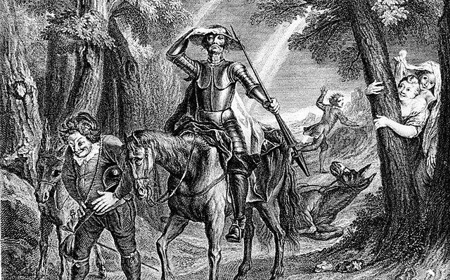 """""""El ingenioso hidalgo don quijote de la mancha"""" (Acto 5) miguel de cervantes siglo de oro"""