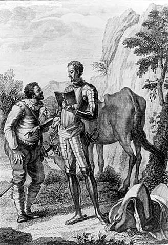 """""""El ingenioso hidalgo don quijote de la mancha"""" (Acto 4) miguel de cervantes siglo de oro"""
