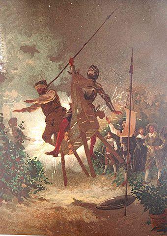 """""""El ingenioso hidalgo don quijote de la mancha"""" (Acto 2) miguel de cervantes siglo de oro"""
