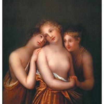 Soggetti femminili nell'arte 800esca timeline