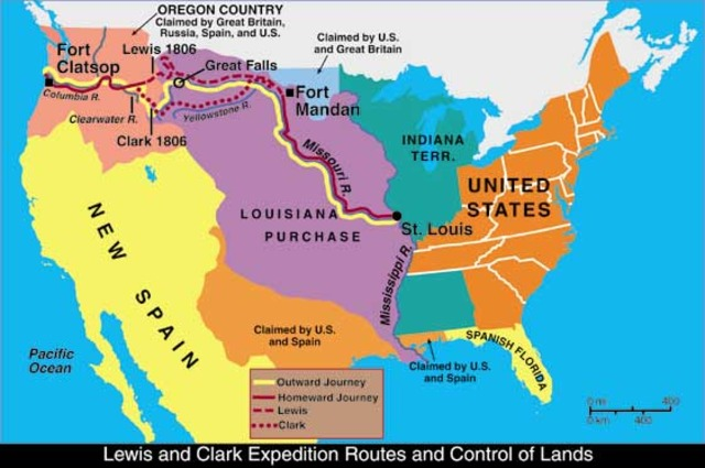 Annoucment about Louisiana Purchase
