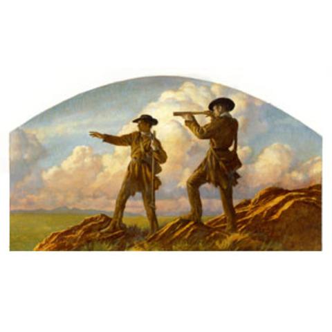 Lewis and Clark reach St.Louis