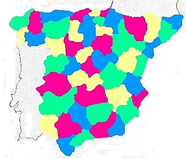 Verificación computacional de la conjetura para colorear un mapa con solo cuatro colores (teorema de los 4 colores).
