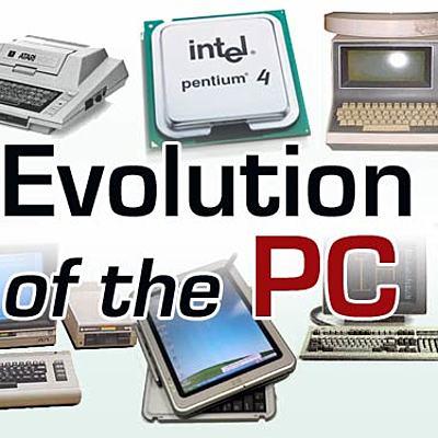 Evolucion de la PC timeline