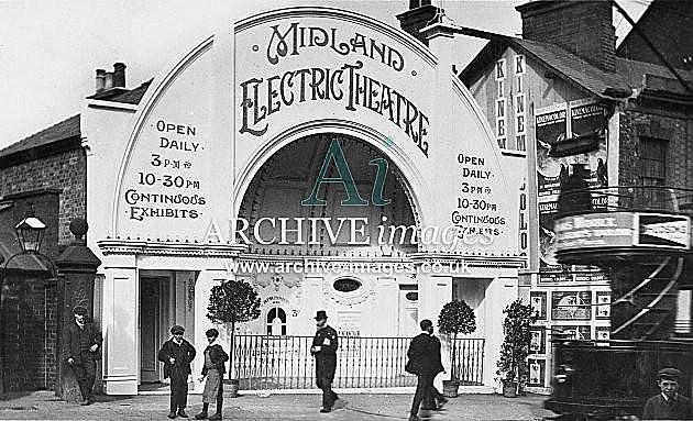 "La primera sala de cine ""Electric Theathre"""