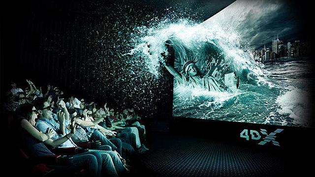 El cine en 4D