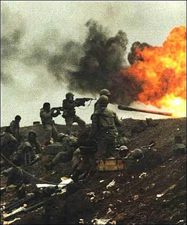 Inicio de la guerra entre Irak e Irán