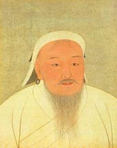 Genghis Khan dies.