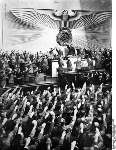 Nazi Party becomes second largest party in Reichstag