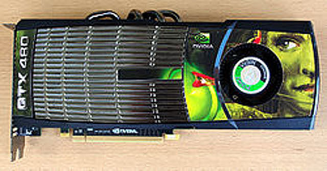 Tarjeta GeForce 400