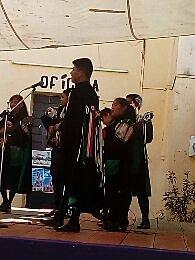 PRIMERA PRESENTACIÓN EN LA MERCED DE PUEBLA(TUNA NORMALISTA DE PUEBLA)