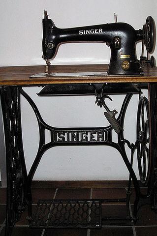 Elias Howe--sewing machine