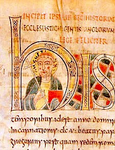 St. Augustine arrives in Britain (beginning of Christian conversion of the Anglo-Saxons)