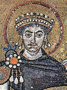 Ο Ιουστινιανός Α' γίνεται αυτοκράτορας