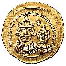 O Ηράκλειος Α' γίνεται αυτοκράτορας μετά από τον εκθρονισμό και φόνο του Φωκά.