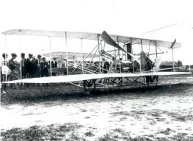 Orville and Wilbur Wright---First Airplane