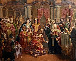 Εκχριστιανισμός των Βουλγάρων από τον Κύριλλο και το Μεθόδιο.