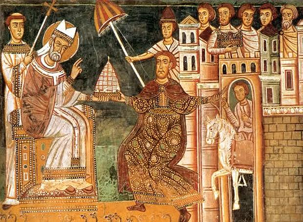 Δημιουργία το Σχίσματος μεταξύ της ανατολικής ορθόδοξης και της δυτικής καθολικής Εκκλησίας.