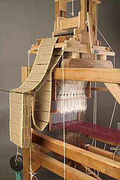 Ткацкий станок, управляемый с помощью карт