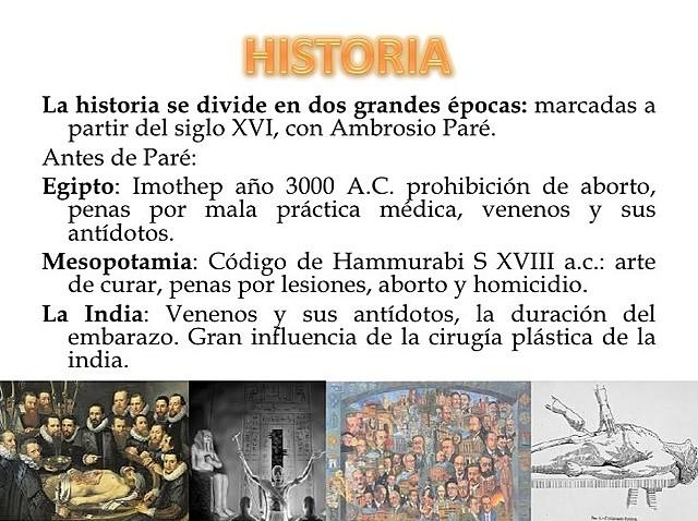 historia de la medicina forense