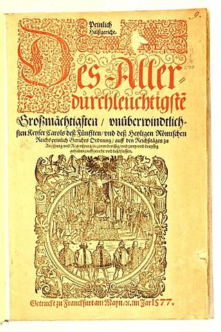 código carolino  emperador Carlos V