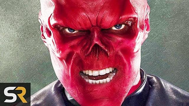 Captain America defeat Red Skull