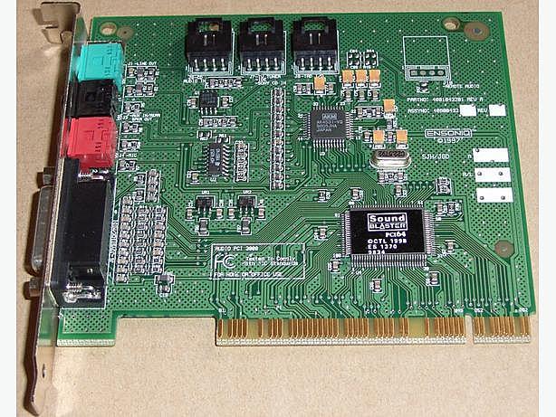 Sound Blaster PCI64