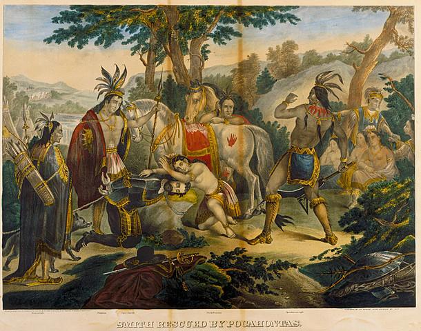 Pocahontas Sacrifices for John Smith Again