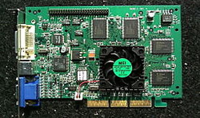 Tarjeta GeForce 256